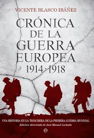 portada libro cronica-de-la-guerra-europea-1914-1918
