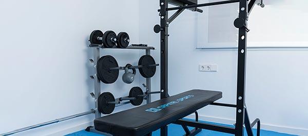 como tener gym en casa