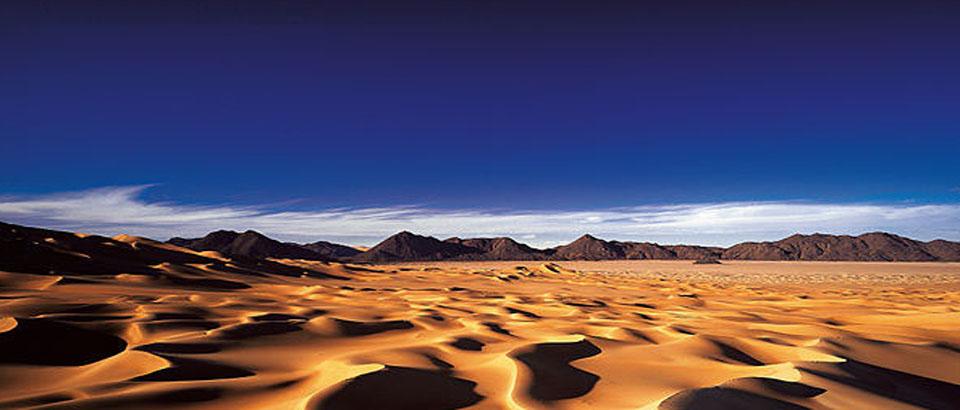 Desert dunas cielo