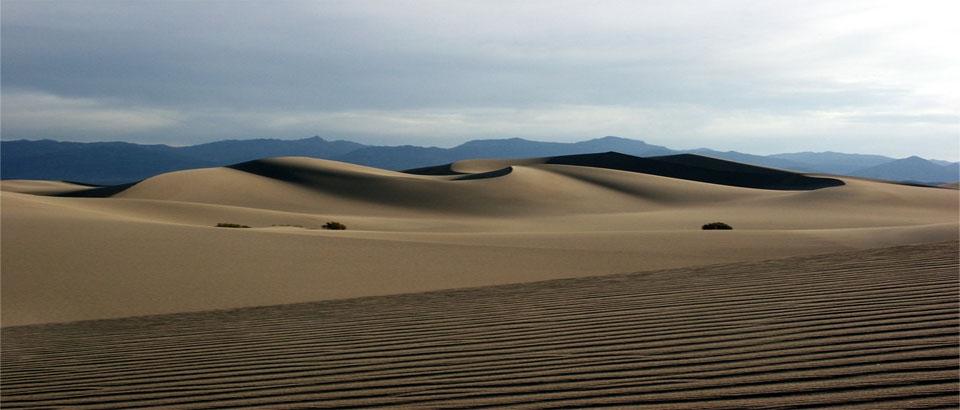 Desierto arena negra