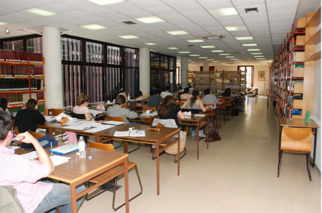 Sala de estudio 2ª planta