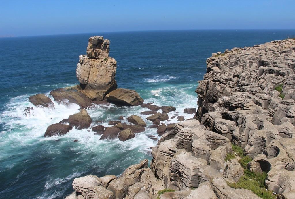 Lapiaz e Islote Litoral. Cabo Carvoeiro. Peniche (Portugal)