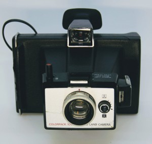 1971 - 1975 Polaroid Colorpack 100 Land Camera