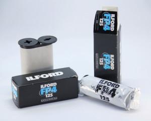 Rollo de 125 Ilford FP4 Plus BW