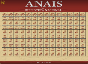 Página Búsqueda Anais da Biblioteca Nacional (Fundação Biblioteca Nacional)