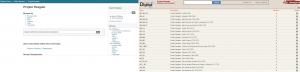 Pantalla búsqueda Projeto Resgate (servidor de Rede Memória y de Biblioteca Digital Nacional Brasil)