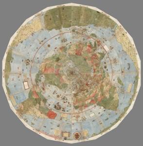 Composición del mapa de Urbano Monte (1587)