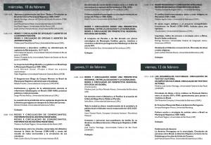 Programa Seminario BRASILHIS 2