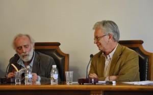 Javier Krahe y Emilio de Miguel