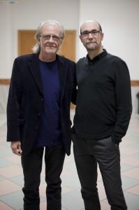 Javier García Rodríguez y  Luis Eduardo Aute