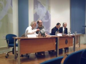 Krahe, Emilio de Miguel y Javier García Rodríguez