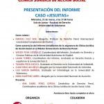 """Presentación Informe Caso """"Jesuitas"""" @ Sala de Juntas - Facultad de Derecho USAL"""