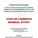 Conferencia de Christian Felber