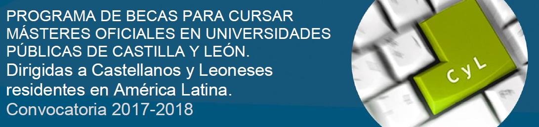 Becas Másteres Castilla y León