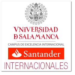 """La Universidad de Salamanca, con el patrocinio del Banco Santander, convoca becas para realizar estudios de doctorado durante el curso académico 2019/2020, destinadas a estudiantes latinoamericanos. Entre otros, las becas pueden solicitarse para el programa de doctorado """"Formación en la sociedad del conocimiento""""."""