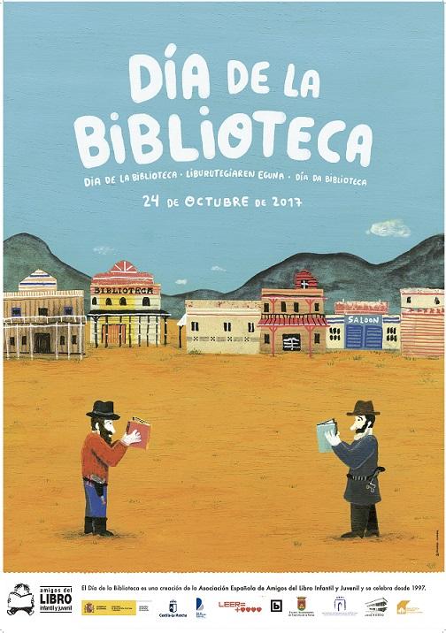 El 24 de octubre se celebra en España el Día de la Biblioteca, una iniciativa de la Asociación Española de Amigos del Libro Infantil y Juvenil, cuya primera convocatoria fue 1997, y que se realiza en colaboración con el Ministerio de Educación, Cultura y Deporte.