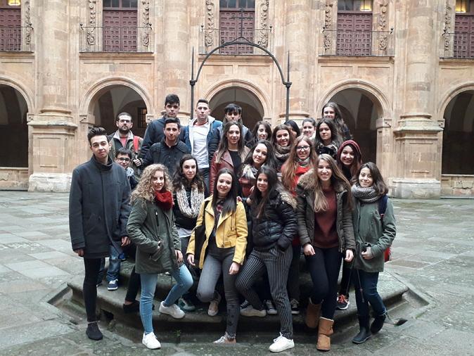 El día 14 de diciembre de 2017, los alumnos de 1º curso del grado de Información y Documentación y de sus dobles grados realizaron una visita guiada a la Biblioteca Vargas Zúñigade la Universidad Pontificia. Durante la visita, los alumnos pudieron conocer las instalaciones, colecciones y servicios de esta biblioteca.