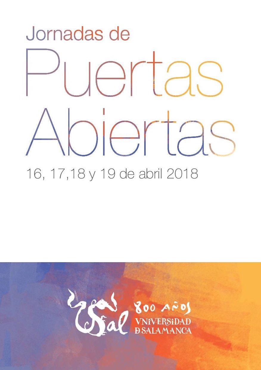 La Facultad de Traducción y Documentación realiza su jornada de puertas abiertas el miércoles 18 de abril de 2018. Esta actividad tiene el objetivo de mostrar a futuros/as estudiantes la oferta formativa que se ofrece en la Facultad, así como sus instalaciones.
