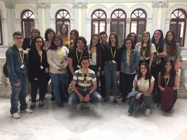 El miércoles 25 de abril de 2018 los alumnos de la asignatura Servicios a Usuarios en Unidades de Información, del Grado en Información y Documentación de la Universidad de Salamanca, tuvieron la oportunidad de visitar la Biblioteca Nacional de Madrid.