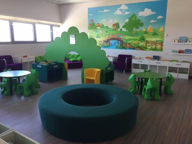 Sección infantil BP Segovia