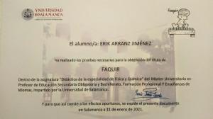 Diploma de Faquir