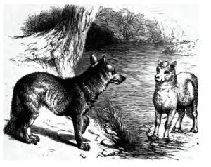 Le_loup_et_agneau_G-F_Townsend_1867_GB