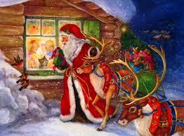 Imagenes De Papa Noel De Navidad.Nochebuena Papa Noel Y El Dia De Navidad Carolina Vidal