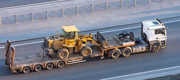 transporte de maquinas