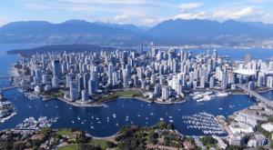 Vancouver-desde-drone