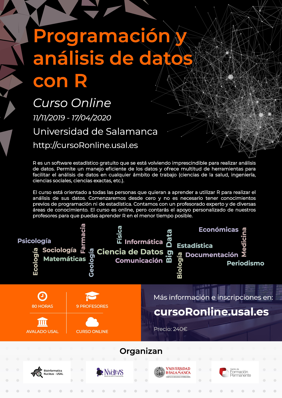 Programación y análisis de datos con R - Curso online