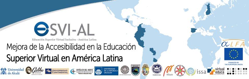 ESVI-AL. Mejora de la accesibilidad en la Educación Superior en América Latina