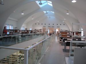 Biblioteca Claudio Rodriguez. Interior