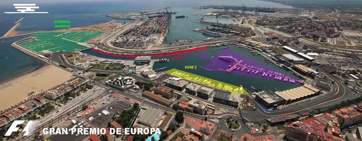 Circuito Urbano De Valencia : Circuito urbano de valencia el mundo la formula