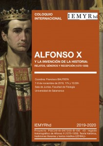 Cartel Coloquio Alfonso X