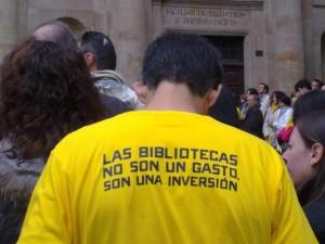 Las bibliotecas son una inversión