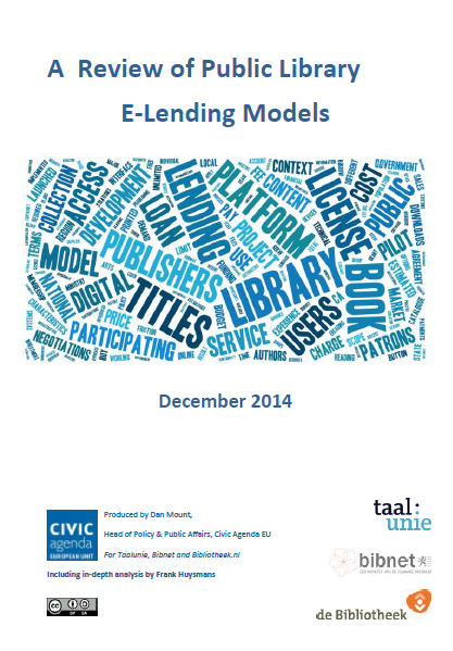 A Review of Public Library E-Lending Models