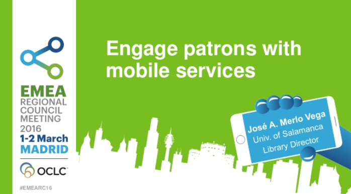 Engage patrons with mobile services