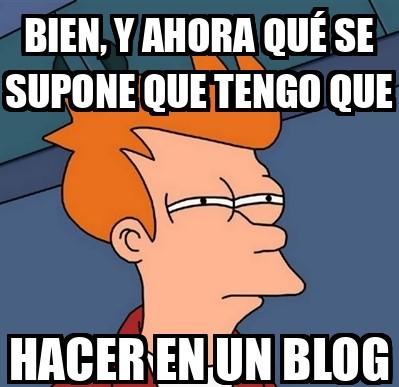 Martes 12 de enero - Crea tu blog
