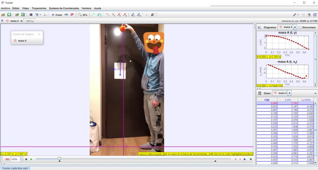 Captura pantalla Tracker