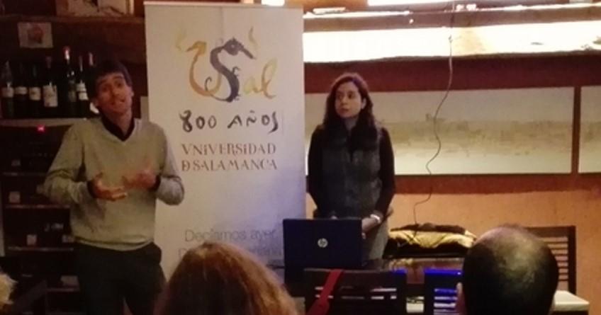 Charla de Erla Morales sobre la interculturalidad en las escuelas de Ávila y su provincia