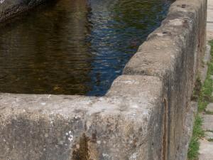 fuente agua pueblo