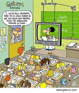 Chiste aula virtual.
