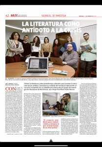 El proyecto en La Gaceta de Salamanca (1)
