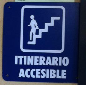 Itinerario accesible