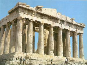 El Partenón en la Acrópolis de Atenas es uno de los símbolos más conocidos de la Grecia clásica